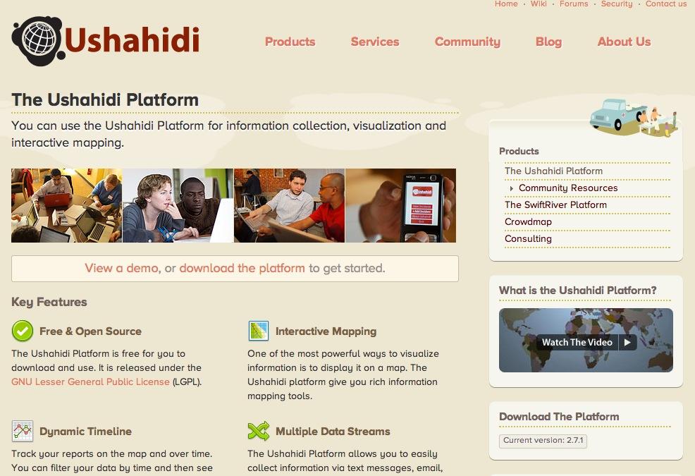 | Ushahidi
