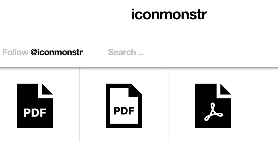 iconmonstr – Free simple icons for your next project