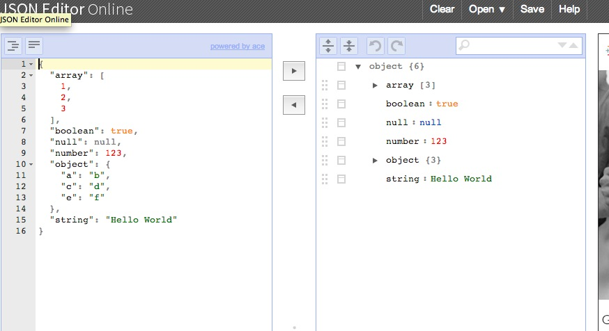JSON Editor Online – view, edit and format JSON online