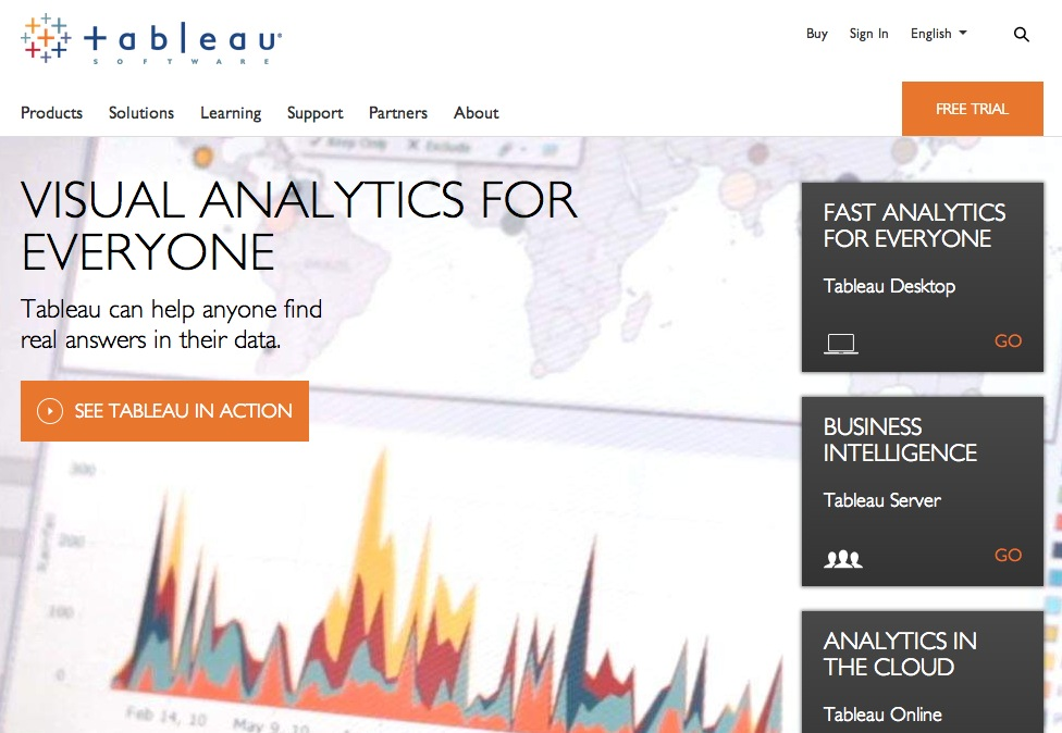 Business Intelligence and Analytics | Tableau Software